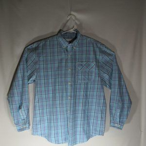 Guy Harvey L/Sleeve Plaid Button Down Shirt Large